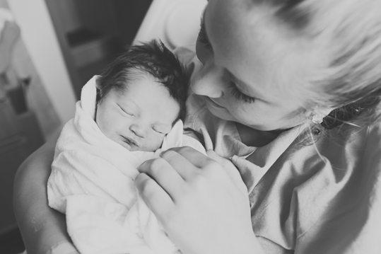 Baby Enzo, Birth, Jordan Cidelle