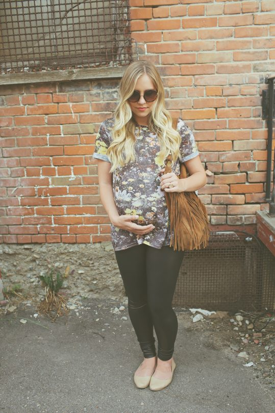 Maternity Fashion, Jordan Cidelle, 70's inspiration